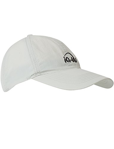 iQ-UV Erwachsene 200 Sonnenschutz Cap Uv-Schutz Kappe, Grey, 55-61cm
