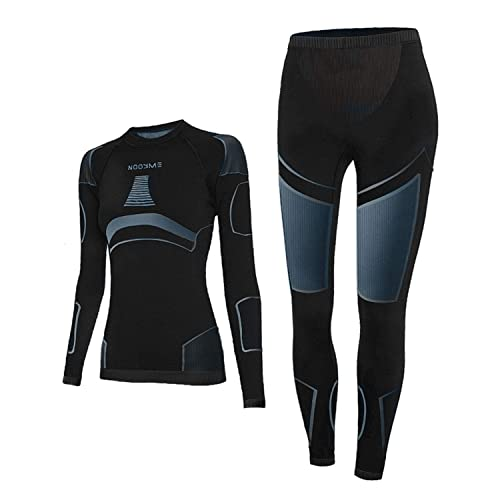 NOOYME Thermal Underwear for Women Long Johns for Women, Base Layer Women Cold Weather