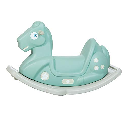 NXYJD Baby Cartoon Lovely Eco Friendly Plastic Rocking Horse Kid Indoor Sport Ride on Animal Toys Children Rocking Chair