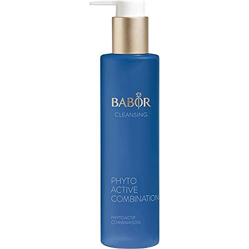 BABOR CLEANSING Phytoactive Combination für Mischhaut und ölige Haut, Gesichtsreiniger zur Anwendung mit Hy-Öl, Mit Salbei, Vegane Formel, 1 x 100 ml