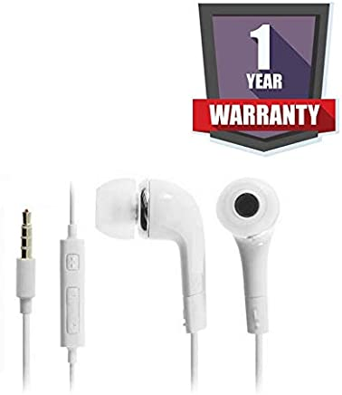 Drumroar 3.5mm Jack J5 Wired Earphones in Ear Headphones with Microphone, Volume Control, Receive/End Calls, Noise-Isolation Earphone for iPhone, Motorola, Vivo, Oppo and Other Smartphones
