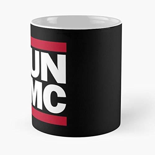 Desconocido Run Hip Hop Retro Pun CMD Parody Rap Silly Funny Taza de café con Leche 11 oz