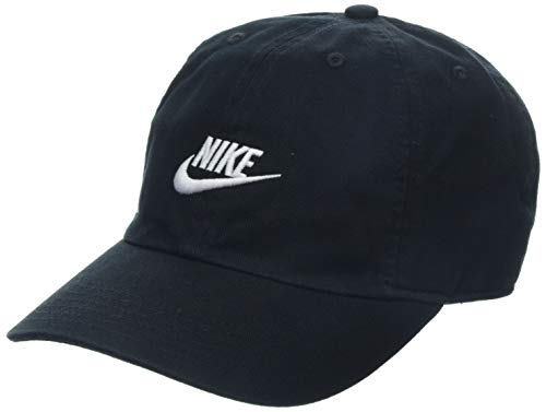 Nike Kinder Y NK H86 Cap Futura Hat, Black/White, One Size