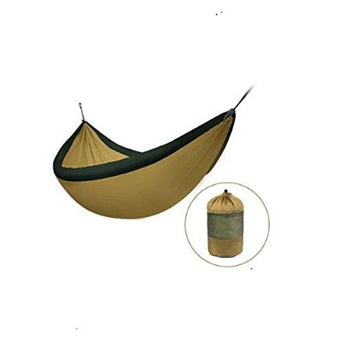 GJ Hamac- Personnel Double Parachute Tissu Étudiant Intérieur Dortoir Chambre Balançoire Adulte l'escalade (Color : C, Size : 240 * 173cm)