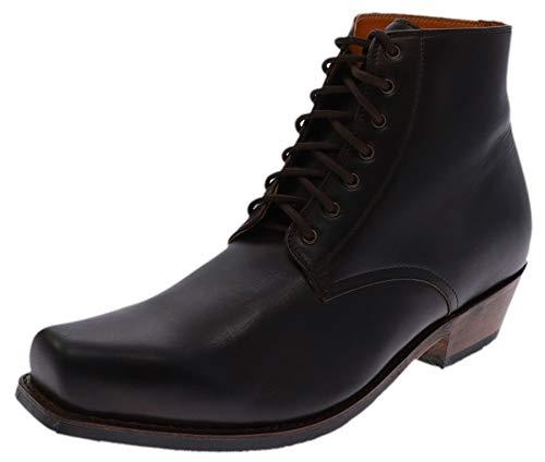 Sendra Boots Unisex Schuhe 16961 Schnürstiefel Lederstiefelette Braun 45 EU