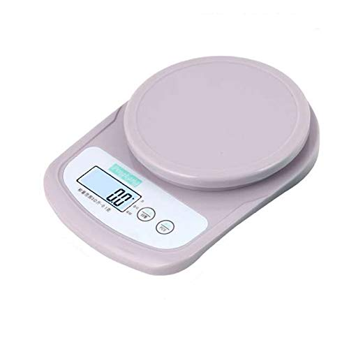 GYAM Digital Kitchen Weighing Scale, Multifunction Food Scale with Tray, LCD Display and Peeling function, for Baking and Cooking, 3KG/0.1g.
