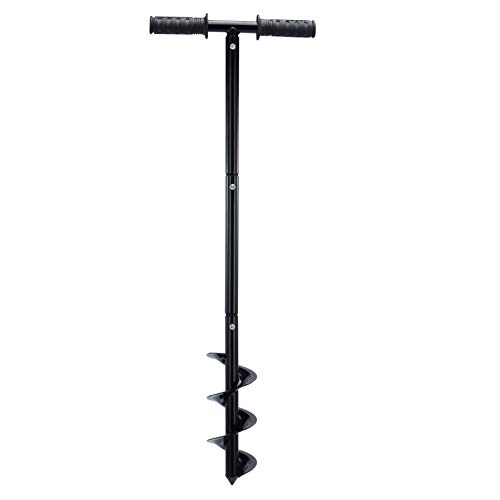 Terradise 86cm Manual Post Hole Digger, Fence Post Auger for Gardening,...