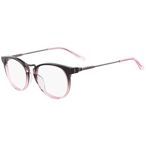 Calvin Klein CK18721, Acetate-Gafas de Sol Crystal Smoke/Pink Gradient Unisex Adulto, Multicolor, Talla única