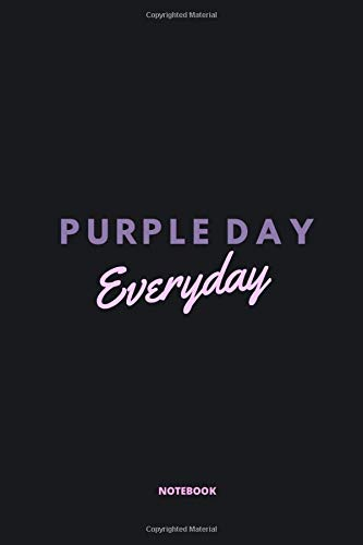 Purple Day Everyday Epilepsy Awareness Journal for Children, Teens & Adults With Epilepsy: 6x9 Inche
