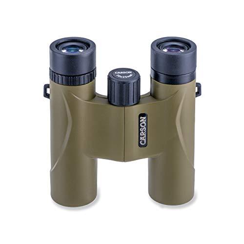 Carson Stinger 8x22mm, 10x25mm of 12x32mm Compacte en lichtgewicht verrekijker voor reizen, vogels kijken, natuur bekijken, zien, Safari's, concerten, jacht en sportevenementen
