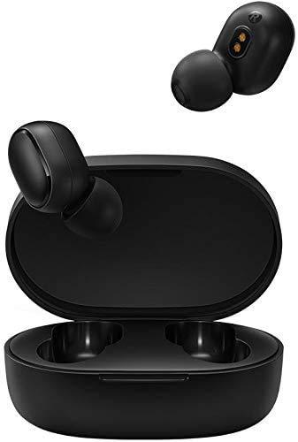 Fone de Ouvido Xiaomi Redmi AirDots 2 - Lançamento Bluetooth 5 - VERSÃO GLOBAL, Preto, Pequeno