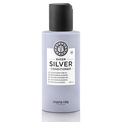 Maria Nila Care & Style - Sheer Silver Conditioner 100ml   pflegender Conditioner für blondes Haar