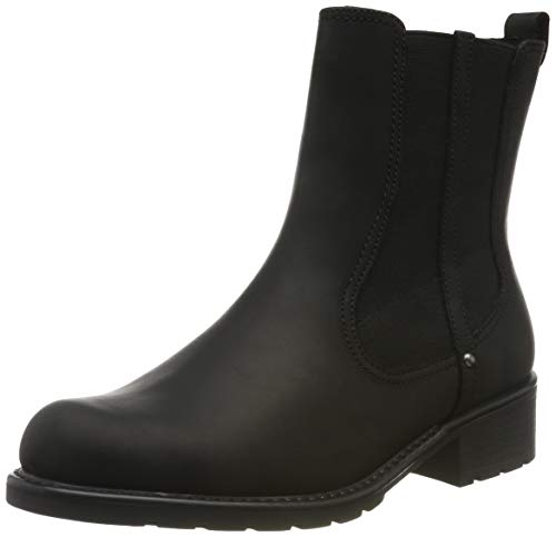Clarks Damen Orinoco Hot Biker Boots, Schwarz (Black Nubuck), 38 EU