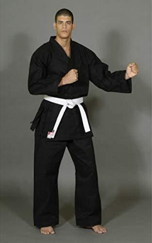 Asia Sports Karate Anzug Advance Black, 12 oz, Gr. 180