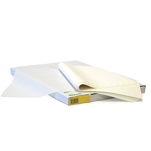 Papeles El Carmen Papel Siliconado doble cara para Horno, Blanco, 40x60cm, 500 Unidades