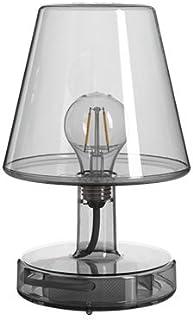 Lámpara Fatboy® Transloetje | Gris | Lámpara de escritorio, luz de lectura, lámpara de mesita de luz | sin cable | recargable con Mini USB