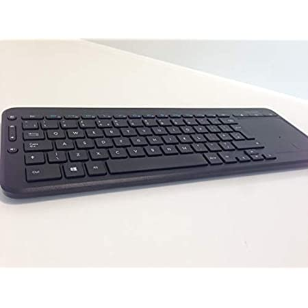 Microsoft N9Z-00013 - Teclado (QWERTY Italiano, con TouchPad), Negro