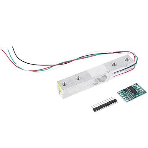 FangWWW Digitale Wägezelle Waage 20 kg Elektronische Küchenwaage + HX711 AD-Modul