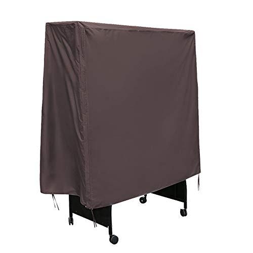 Duokon waterdichte tafeltennis afdekking stofbescherming Ping Pong tafelkleden voor buiten weerbestendige ademende Oxford stoffen bekleding