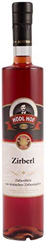 Hödl Hof Zirberl Zirbenschnaps | 25% vol. | Gold World Spirits Award | Kräutertlikör | (0,5 l)
