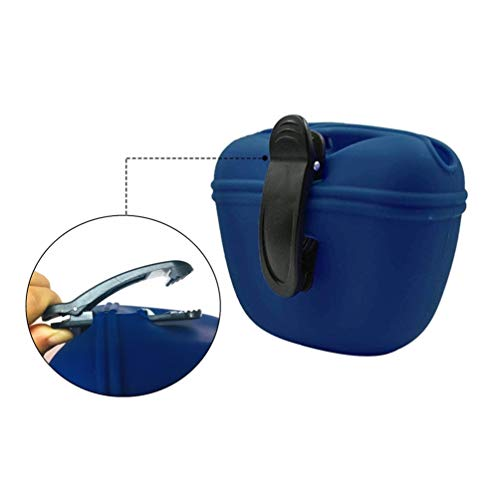 RoyalCare Silicone Dog Treat Pouch-Small Training Bag-Portable Dog Treat Bag