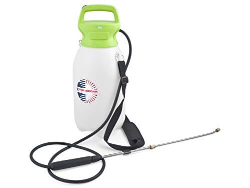 Van Degan Terry waterpomp, polyethyleen, oplaadbare lithium-accu, wit en groen, Lt 8, 5 V