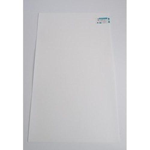 アクリサンデー PPクラフトシート(ポリプロピレン) 白 L(565×980) 0.75ミリ (PS-2 L 0.75)