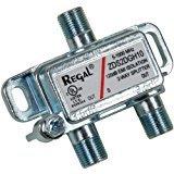REGAL 2 Way Coax Splitter ZDS2DGH10 1 GHz