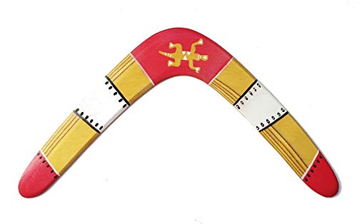 Boomerang de madera. Deporte, ocio, regalo y decoración. DIESTRO. Apto para adultos y niños. Ideal regalo, celebración, despedida, amistad, recuerdo.