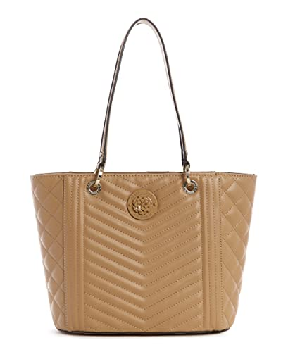 GUESS Noelle Small Elite Bolso, Beige, One_size