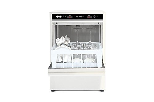 MVP Group F-16DP Jet-Tech Systems Stainless Steel 304 Undercounter High Temperature Cup and Glass Washer