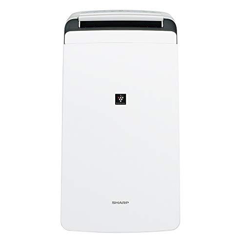 シャープ 衣類乾燥除湿機(木造14畳/コンクリート造28畳まで ホワイト系)CV-120 2019年モデル