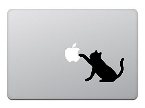 カインドストア『MacBook Air / Pro ステッカー 黒猫 M618』