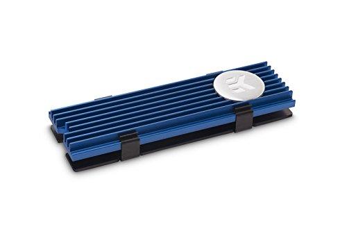 EK Water Blocks EK-m.2NVMe, refrigeración pasiva, Color Azul