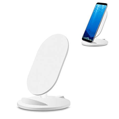 ZUKN Qi 5W Wireless Fast Charger Base Intelligente tragbare Ladestation für iPhone 8 X Galaxy S7 S6 und andere QI-Telefone Ladehalterung