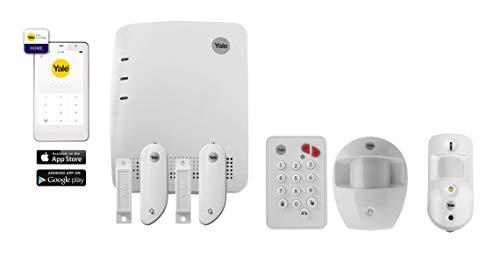Yale 60-3800-EU0I-SR-5011 Smart Home - Set de Alarma con hub gsm