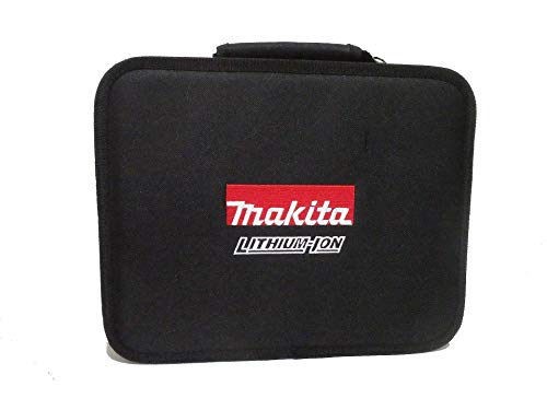 マキタ 純正 ソフトケース 収納バッグ 小物入れバッグ ロゴ刺繍 サイズ約W280xH60xD220mm BL1860B、DC18RF等収納可能 831276-6