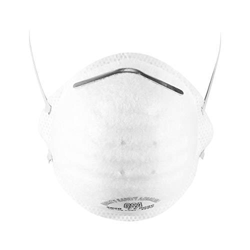 Monllack FFP2-Maske Anti-Influenza-Anti-Fog-Stirnband mit Ventil-Vlies-Atemschutzmasken-Sicherheitsmasken - 3