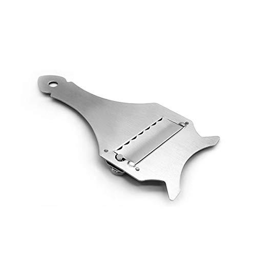 PYCONG 1 cortador de queso y chocolate para verduras y frutas, herramienta de cocina ajustable de acero inoxidable