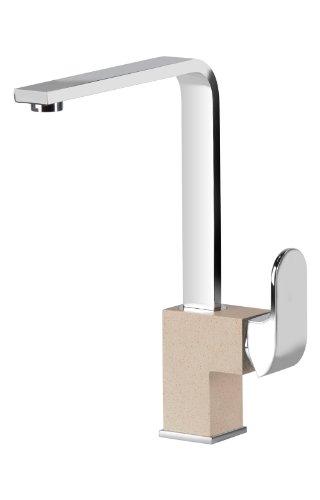 Miscelatore Sand Beige Granito da cucina a rubinetto singolo cucina rubinetto da DEANTE modello Primo