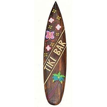 Planche de Surf 100cm Tiki BAR D/écoration pour Accrocher Lounge Style