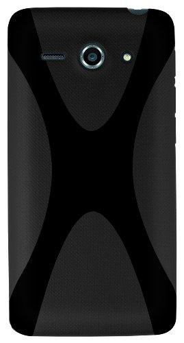 mumbi Hülle kompatibel mit Huawei Ascend Y530 Handy Case Handyhülle, schwarz - 3