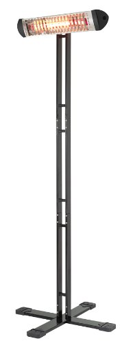 Mo-El Infrarot Heizstrahler Sharklite 1200N IP55, Mehrfarbig, 1200 Watt - 2