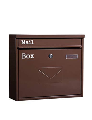 CCSLE Chalet con buzón de correo al aire libre europeo Buzón exterior...