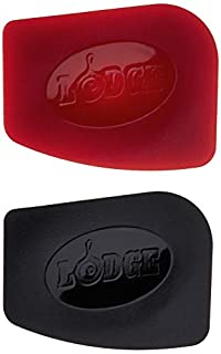 Lodge SCRAPERPK Durable Polycarbonate Pan Scrapers, Red and Black, 2 Count (B01KQ9D1B4) | Amazon price tracker / tracking, Amazon price history charts, Amazon price watches, Amazon price drop alerts