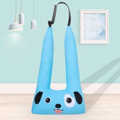 XKMY Asiento de seguridad portátil para bebé, correa de seguridad para bebé, asiento de dibujos animados, cinturón de seguridad para el coche, cinturón de seguridad suave para niños (color: perro)