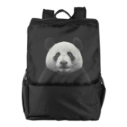 Panda Bear Face Animal Mujeres Hombres Laptop Mochila de Viaje College School Bookbag