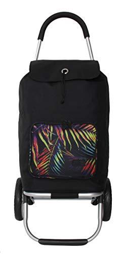 Franky Unisex Einkaufstrolley Einkaufswagen Einkaufstasche Color Plast Palms