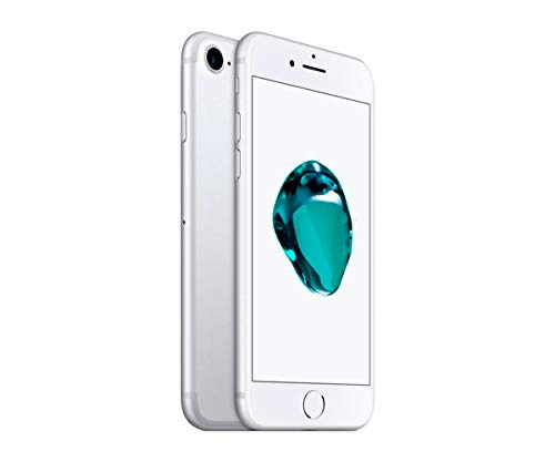 iPhoneCPO Apple iPhone 7 11,9 cm (4.7') 2 GB 128 GB SIM única 4G Plata Renovado 1960 mAh - Smartphone (11,9 cm (4.7'), 2 GB, 128 GB, 12 MP, iOS 10, Plata)