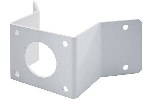 DIGITUS Professional Kamera-Eckhalterung für Netzwerk-Kameras zur Direktmontage, Weiß